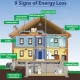 signs of poor insulation